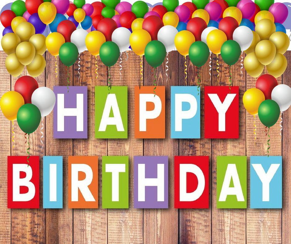 Happy birthday and many years of life. Birthday wishes