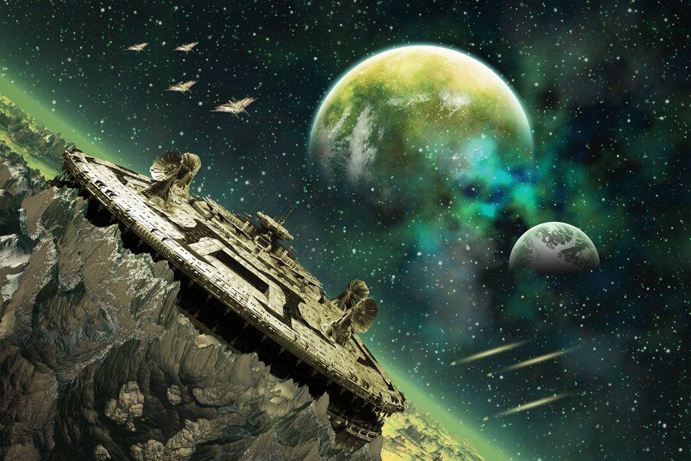 FRB-сигналы приходят из-за пределов нашей галактики, преодолевая гигантские расстояния. Фото: depositphotos.com