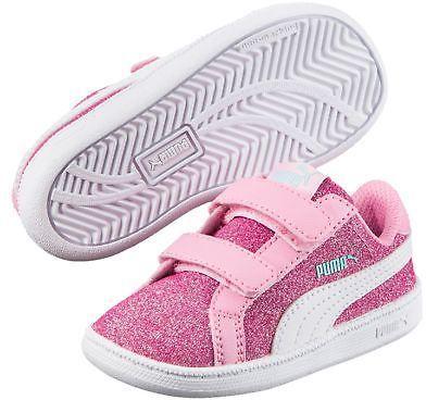 Baby Sneakers Puma Smash Glitz Glamm, PUMA Sneakers