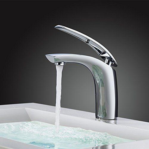 Perfect Homelody Chrom Mischbatterie Wasserhahn Bad Armatur Waschtischarmatur  Waschbeckenarmatur Einhebelmischer Badarmatur Waschtischmischer Waschbecken  Armatur