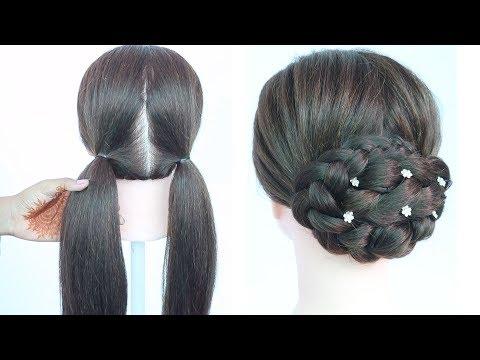 Hairstyles For Short Thin Hair Long Layered Hair For Round Faces Flower Hairstyle Haircuts For Mid Le Ide Gaya Rambut Gaya Rambut Kepang Gaya Rambut Terbaru