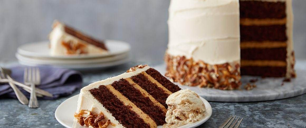 This is the perfect cake for any occasion! Don't let the many layers intimidate you; it's easier than it looks!