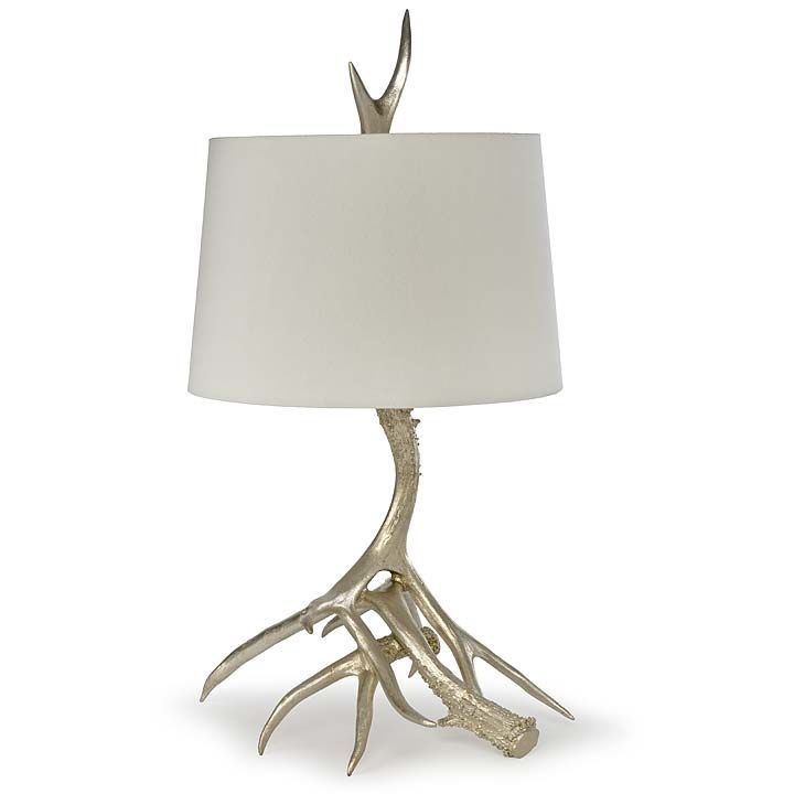 Antler silver leaf table lamp by regina andrew 44 11 0207 formal antler silver leaf table lamp by regina andrew 44 11 0207 aloadofball