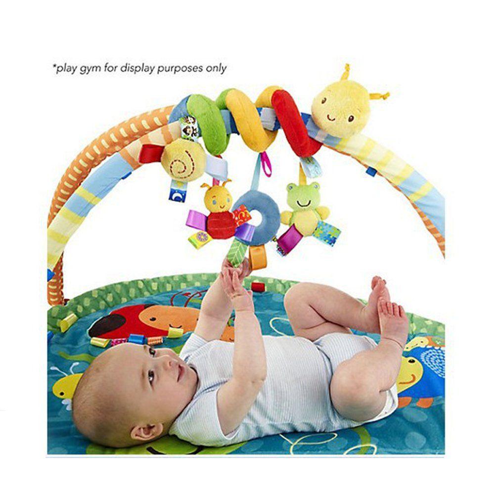 Baby toys car  GZQ Baby Stroller Toy Kid Crib Cot Pram Bed Hanging Rattles Spiral