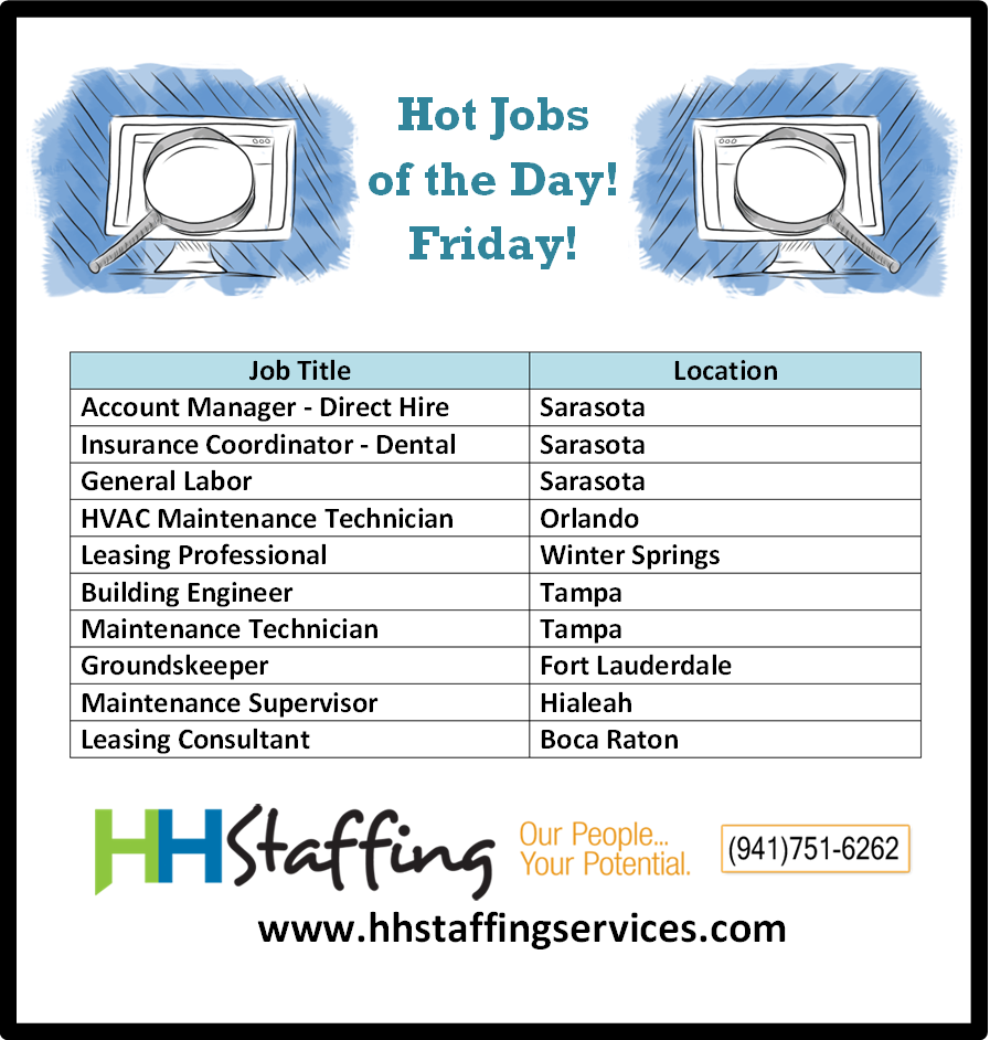 Happy Friday To All Our Jobseekers Are You Ready For The Weekend