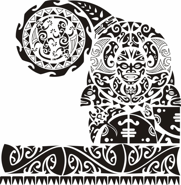 48 Coolest Polynesian Tattoo Designs Polynesisches Tattoo Maorie Tattoo Vorlagen Maorie Tattoo