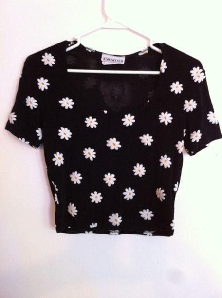 Resultados da pesquisa de http://picture-cdn.wheretoget.it/fgp243-l-610x610-t+shirt-flowers-floral-90+s-grunge-daisy-90s-shirt-black-crop-white-yellow-tumblr-floral+shirt-black+shirt-flower+shirt-clothes-pretty-cute-short-girl-womens-daisies-crop-vintage-b.jpg no Google