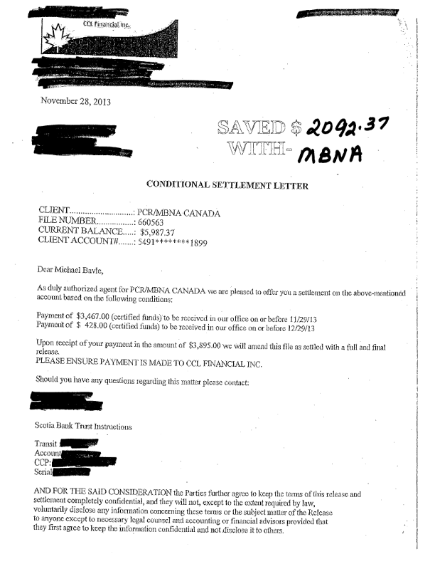 Legal Receipt Of Payment Pleasing 26 Best Mbna Settlements Images On Pinterest