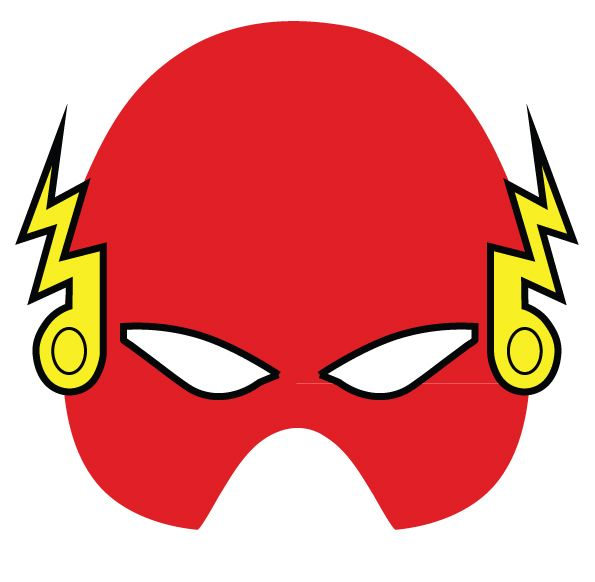 superhero masks made in a day for the opening party of the