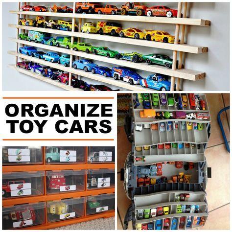 15 Clever Toy Car Storage Ideas Elliot S Favorites Pinterest