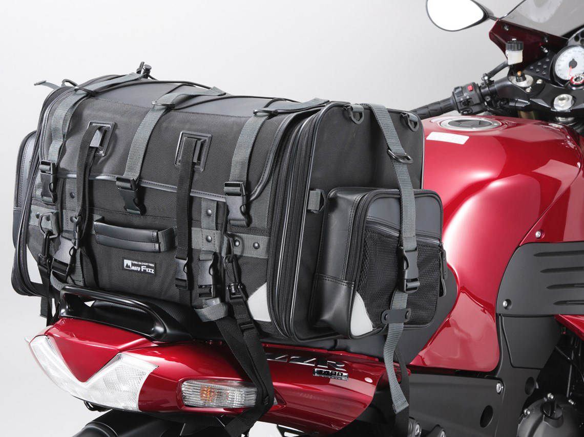 small motorcycle luggage rack bag