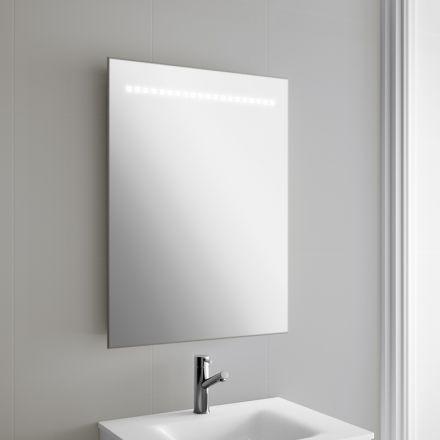 Miroir  éclairage LED pour salle de bain Allumage gr¢ce  un