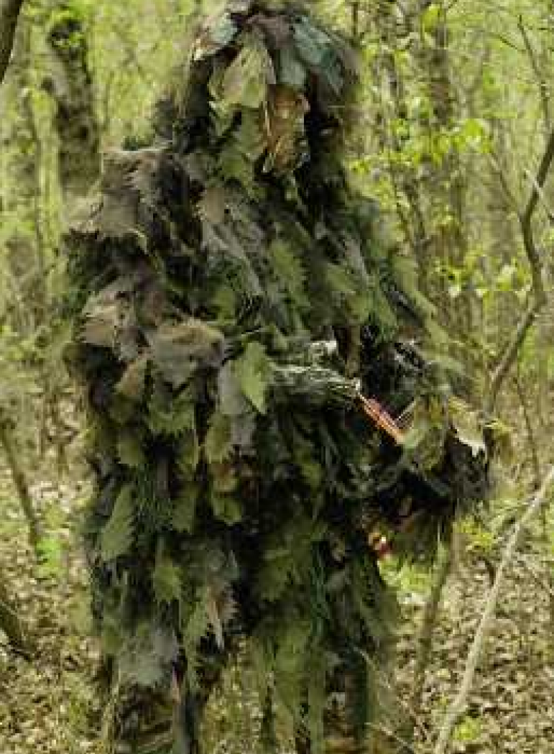 Chameleon Long Jacket Ghilly Ghillie Suits And