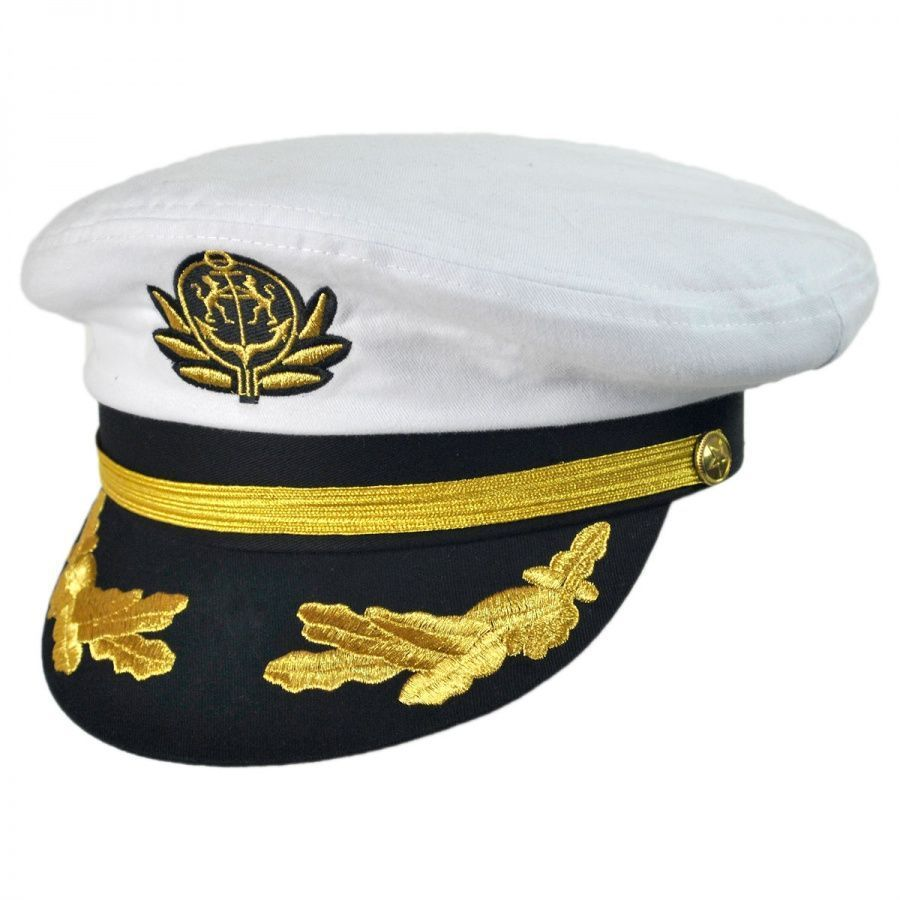 590f2d4ab63 Deluxe Adjustable Yacht Cap