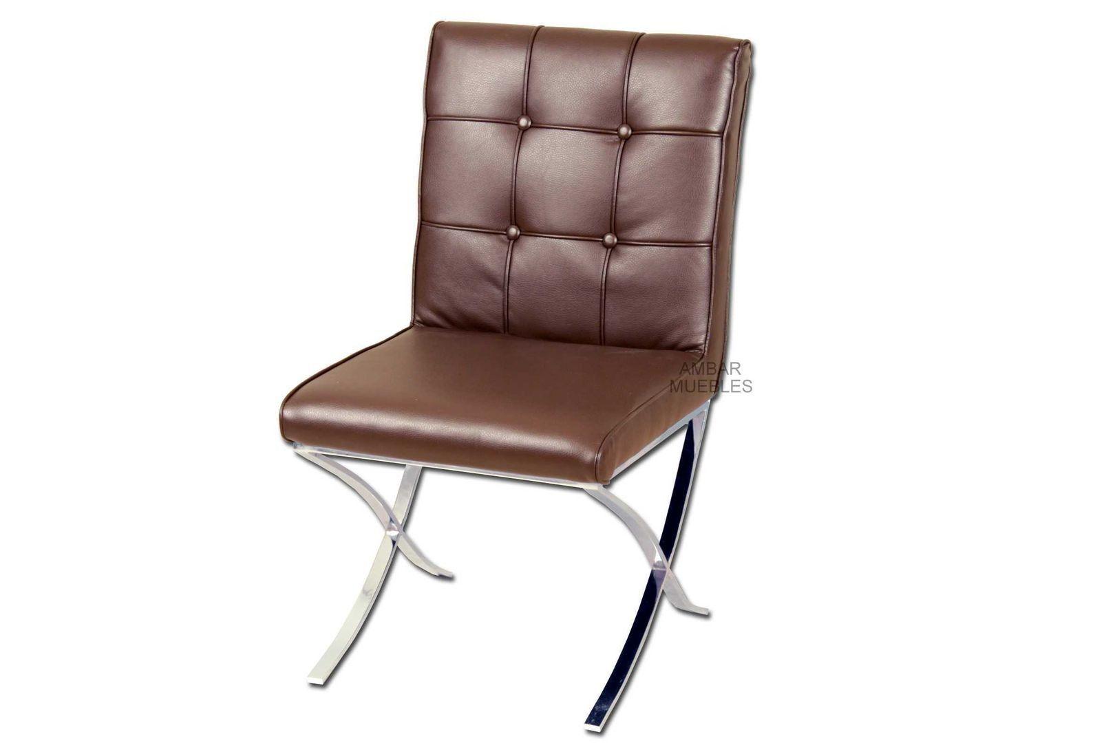 Silla moderna manresa marr n sillas modernas de dise o for Silla despacho diseno