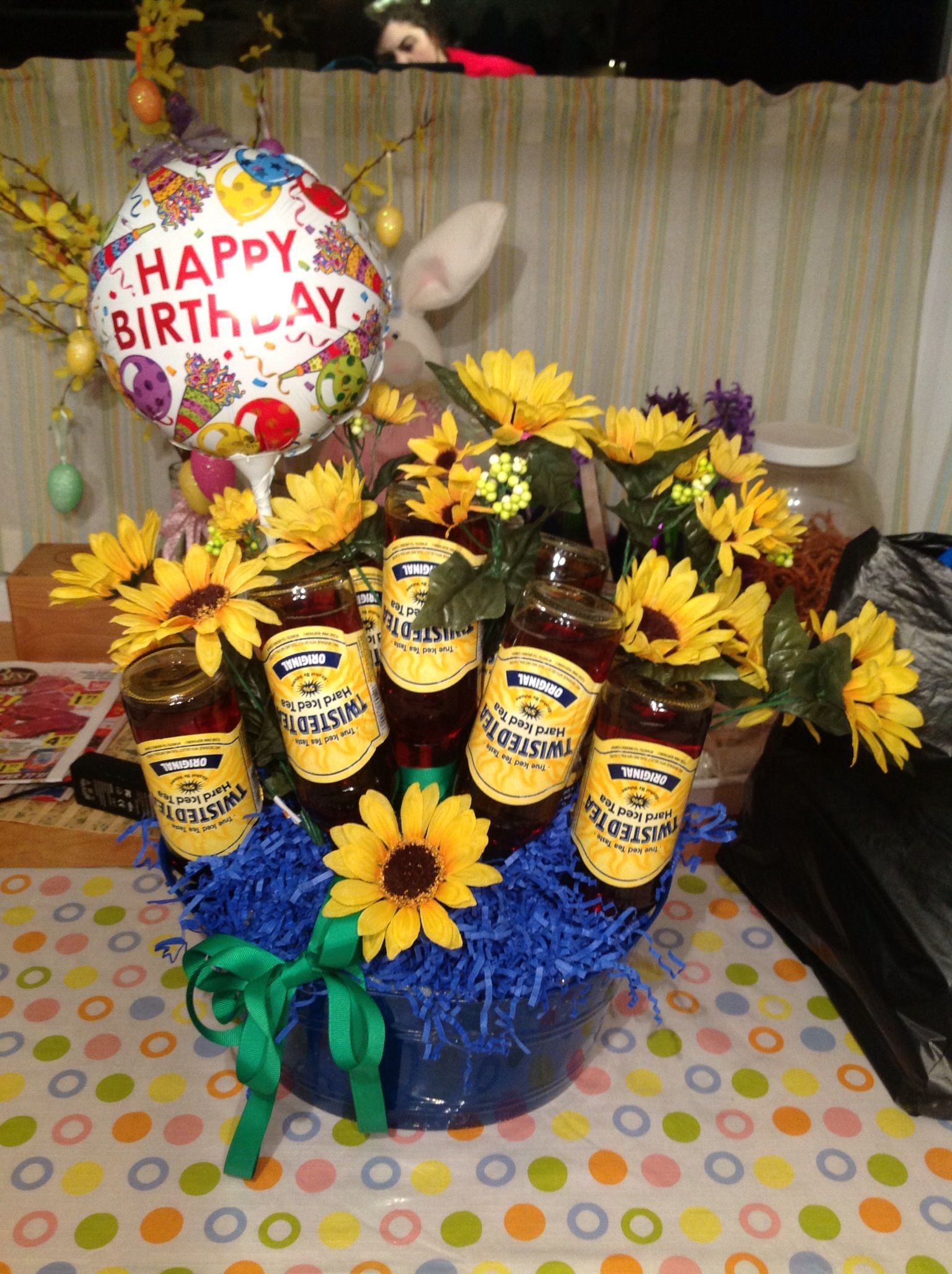 Shannons Twisted Tea Bouquet