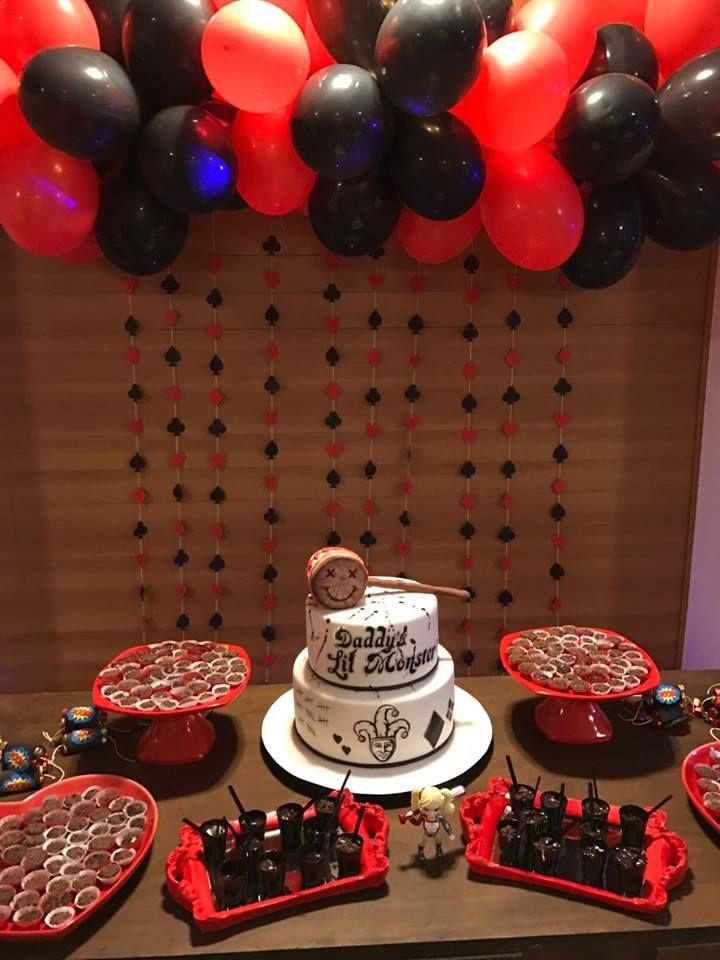 Harley Quinn Birthday Party Decor Decora 231 227 O Festa De