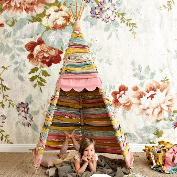 12 id es pour fabriquer un tipi diy kinder tipi wohnklamotte pinterest. Black Bedroom Furniture Sets. Home Design Ideas