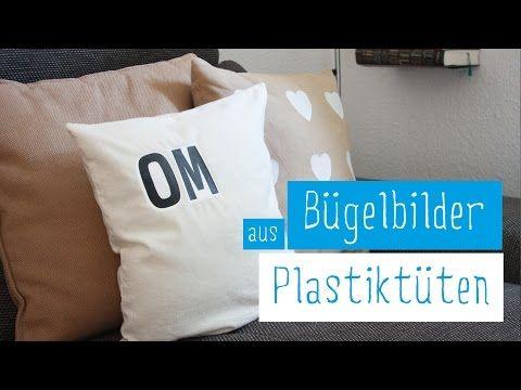 Bedrucke deine Kissen mit Plastiktüten | Kissen bedrucken