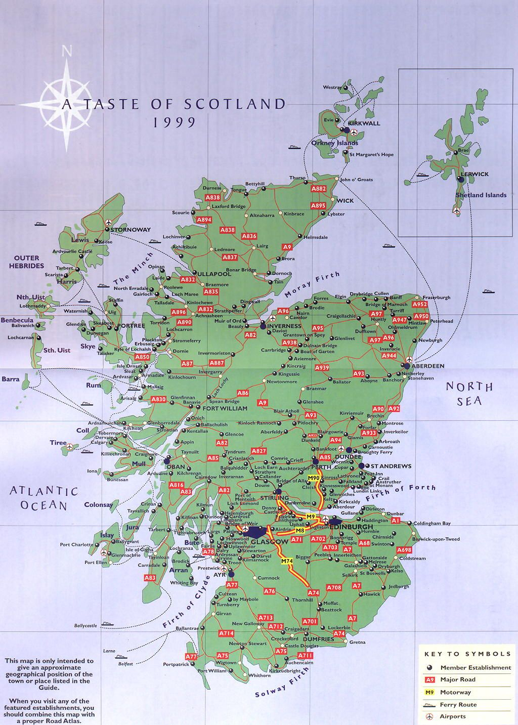 scottland | Scotland Road Map - Scotland • mappery | Scotland ...