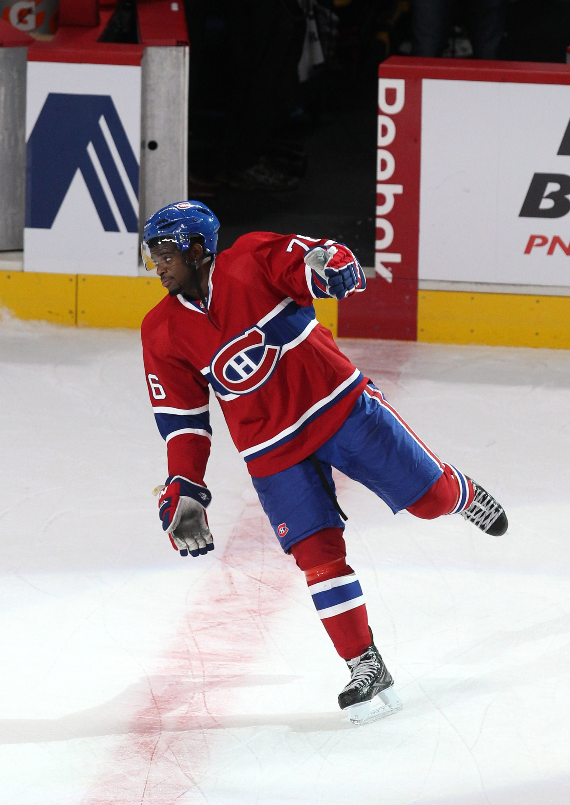 1d0c04961bb CrowdCam Hot Shot: Montreal Canadiens defenseman P.K.Subban is named second  star of the game against New Jersey Devils at the Bell Centre. Photo by Jean