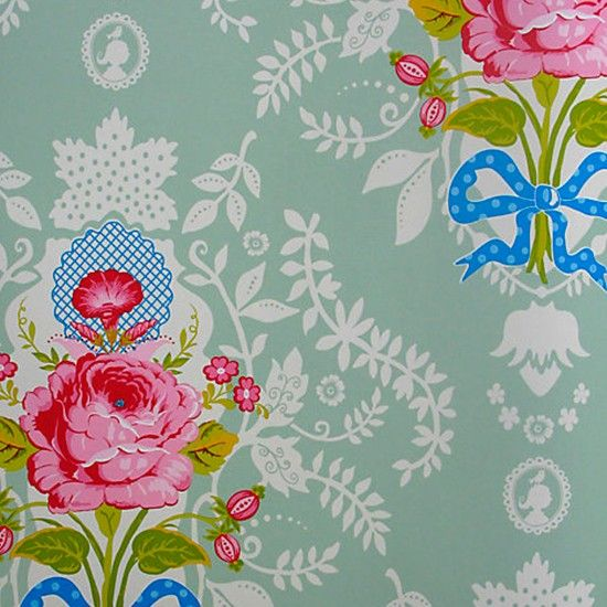 PIP Studio Wallpaper Collection Shabby Chic Vintage Floral Patterns Country Gifts And Homeware