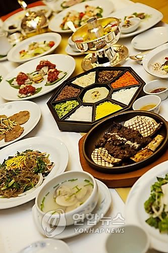 Lavish Korean royal cuisine!