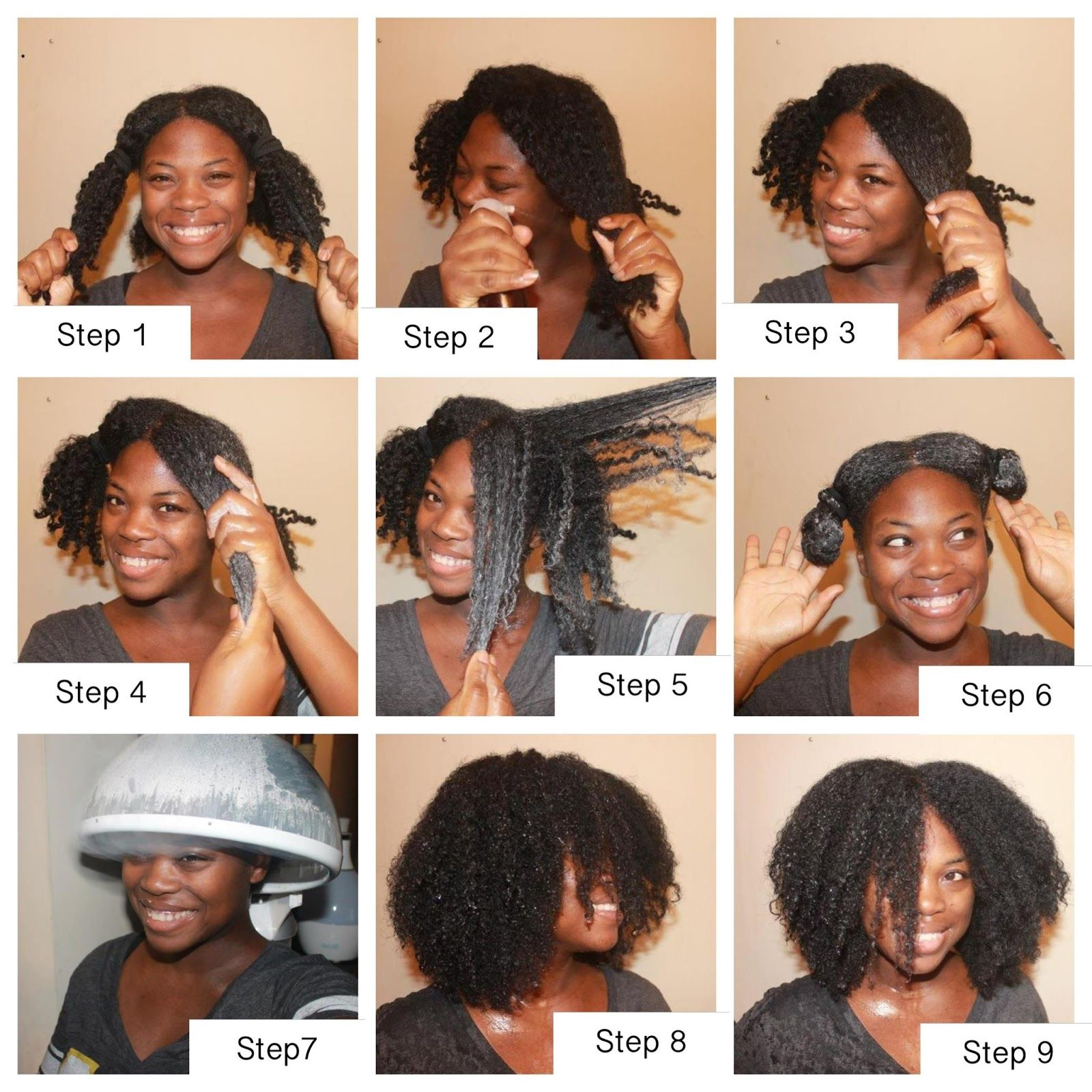 how to get extremely curly hair after shower