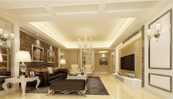 Wohnzimmer Klassisch ~ Wohnzimmer einrichten ideen klassischer wohnbereich mit
