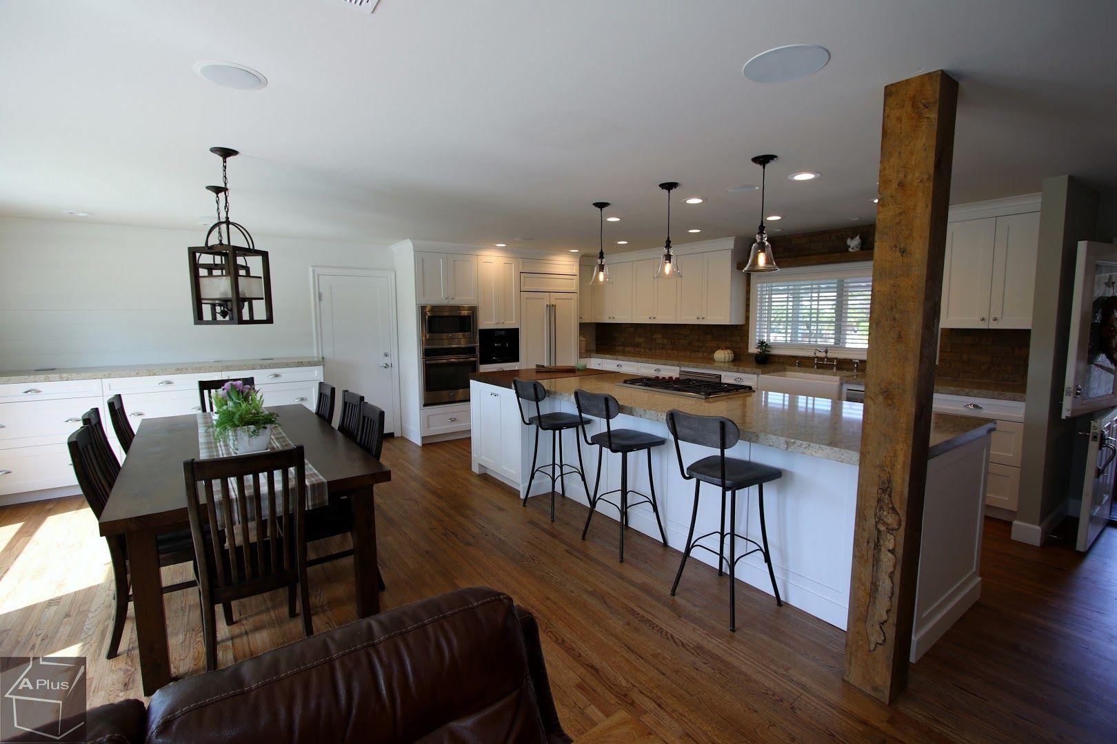 Aplus Interior Design Remodeling Rustic Kitchen Kitchen