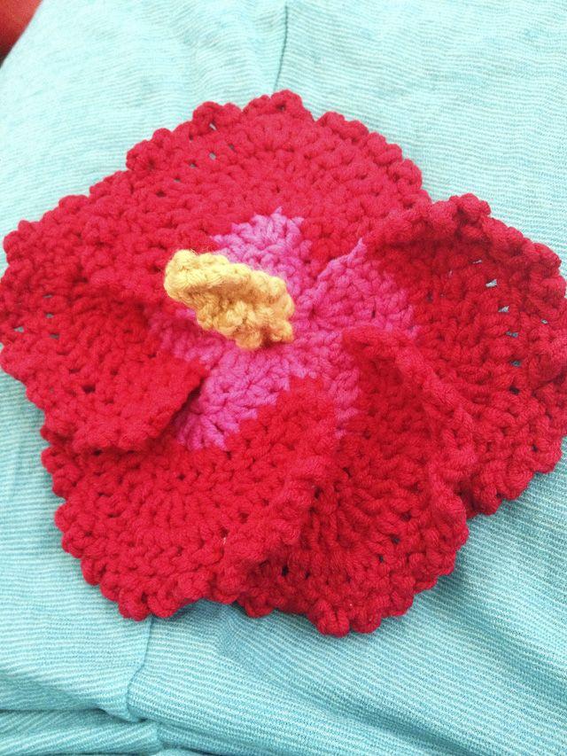 Crochet Hibiscus Flower | Häckeln und Blumen