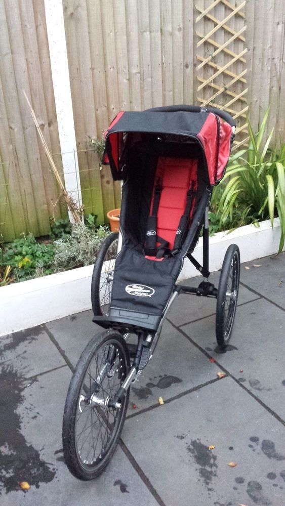 Baby Jogger Black Red All Terrain Performance Running Buggy Pram