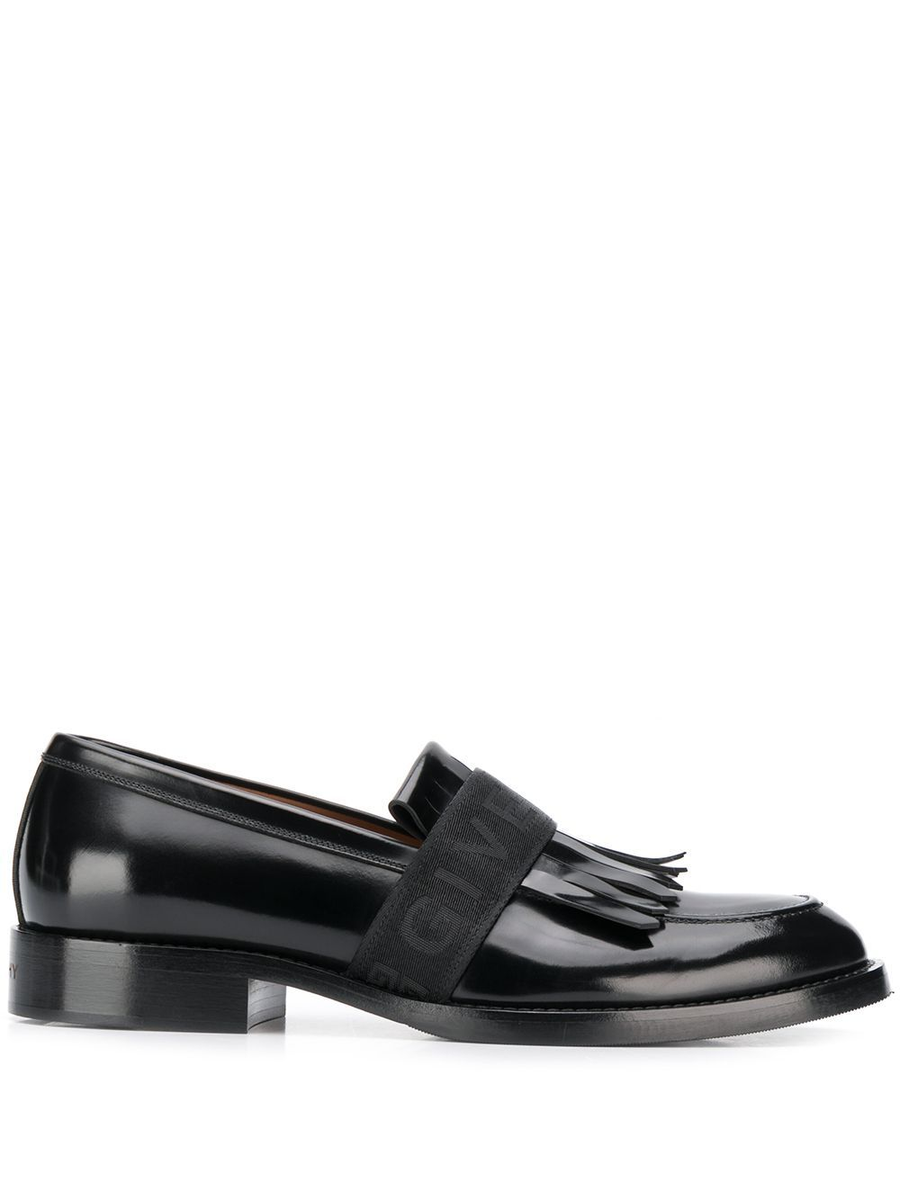e38787b437a GIVENCHY GIVENCHY FRINGED LOAFERS - 黑色.  givenchy  shoes ...