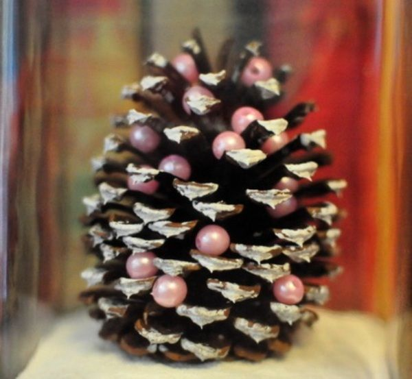 Diy miniature pine cone christmas tree prakticideas diy miniature pine cone christmas tree find fun art projects to do at home and arts and crafts ideas solutioingenieria Gallery