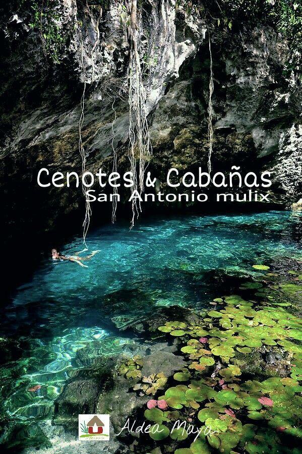 Cenotes caba as en san antonio mulix a 50 min de m rida - Alojamiento rural merida ...