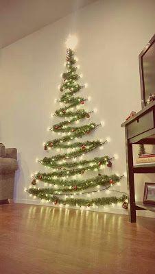 Aprende Como Hacer 8 Arbolitos Navidenos Para Decorar Paredes Lodijoella Hacer Arbol De Navidad Arbol De Navidad Pared Arbol De Navidad Original