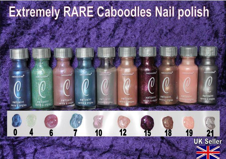 Caboodles Nail Polishes The Art Of Nails Nail Polish Vintage Nails