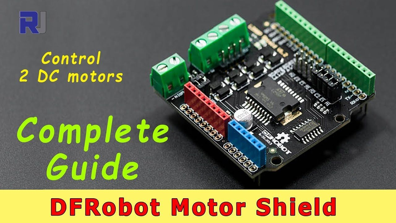 In this video, you will learn how to control motors using
