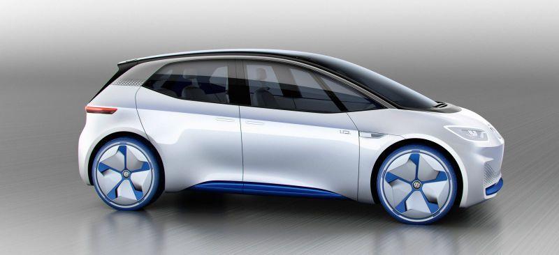 Der Volkswagen I D Ist Die Elektrische Zukunft Von Kleinwagen Mit Einer Reichweite Von 373 M In 2020 Vw Electric Car Compact Cars Volkswagen