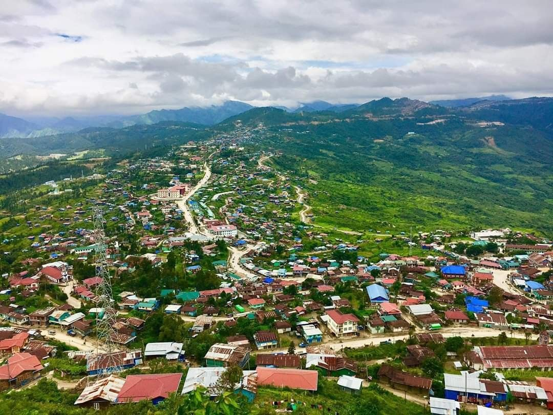 Hakha, which is the capital city of Chin State and it is based on the slope  of a large mountain, in a U shape. A s… | Nature adventure, Travel, Wonders  of