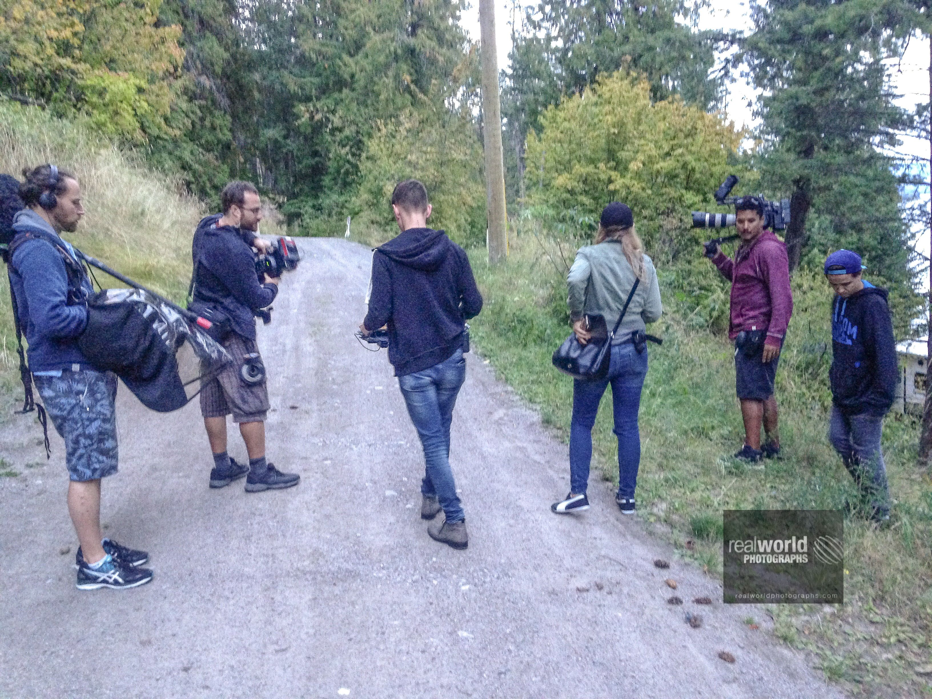 Love It Or List It Crew Filming In The Okanagan Bc Canada