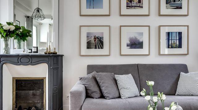 les 25 meilleures id es de la cat gorie amenagement salon sur pinterest d coration int rieure. Black Bedroom Furniture Sets. Home Design Ideas