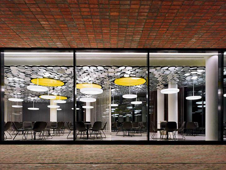 Der Spiegelu0027s Cafe Canteen by Ippolito Fleitz Group, Hamburg - designer kantine spiegel magazin