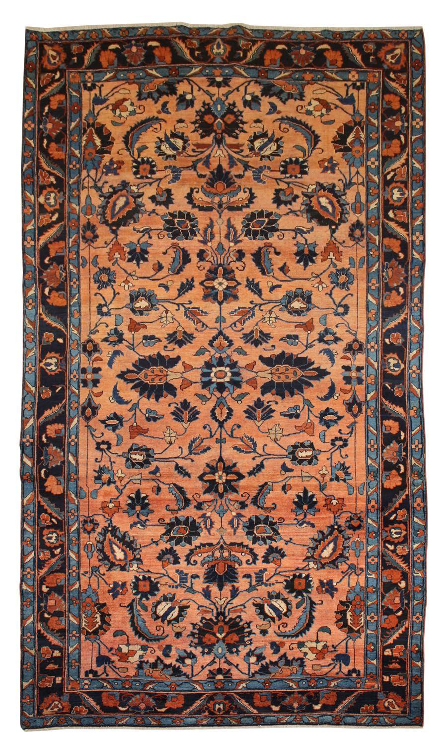 Cod. 8713 Lilian antico 352x188 tappeto persiano antique
