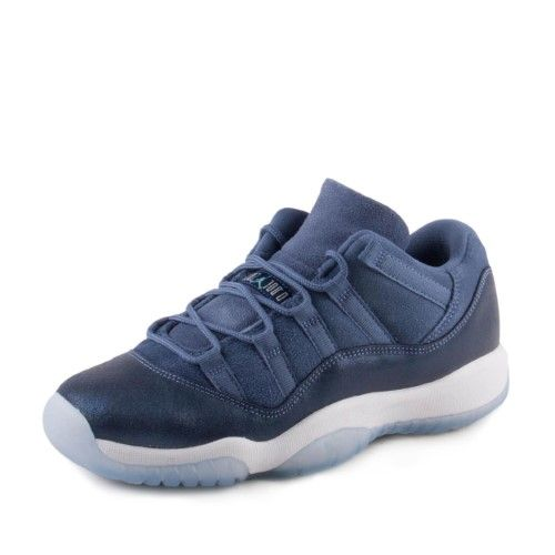 cc6a1b60f66157 Nike Girls Air Jordan 11 Retro Low GG Blue Moon 580521-408 Size 5.5Y ...