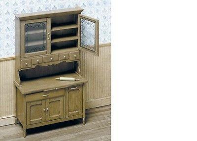 Dollhouse-Miniatures-1-12-Scale-Vintage-Kitchen-Cabinet ...