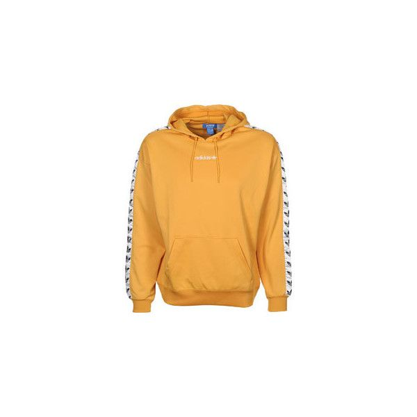 Quizás rizo reforma  adidas TNT Tape Adicolor Classics hoodie yellow ❤ liked on Polyvore  featuring tops, hoodies, hooded sweatshirt, adid… | Clothes design, Yellow  hoodie, Adidas hoodie