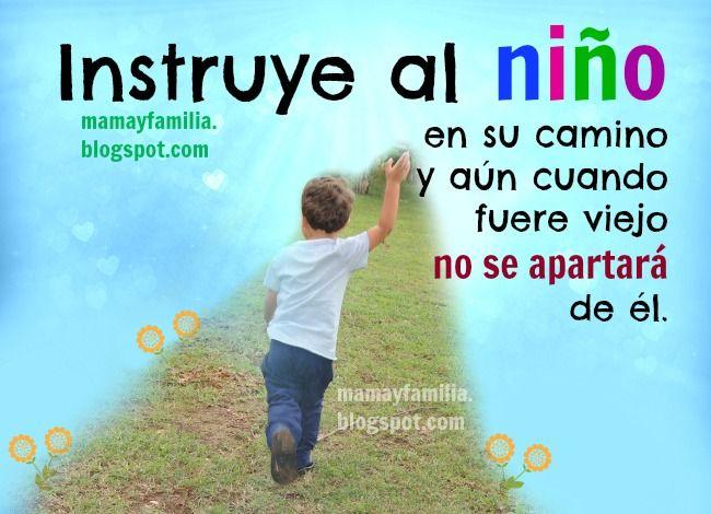 Instruye Al Niño En Su Camino Imágenes De Niño Y Familia