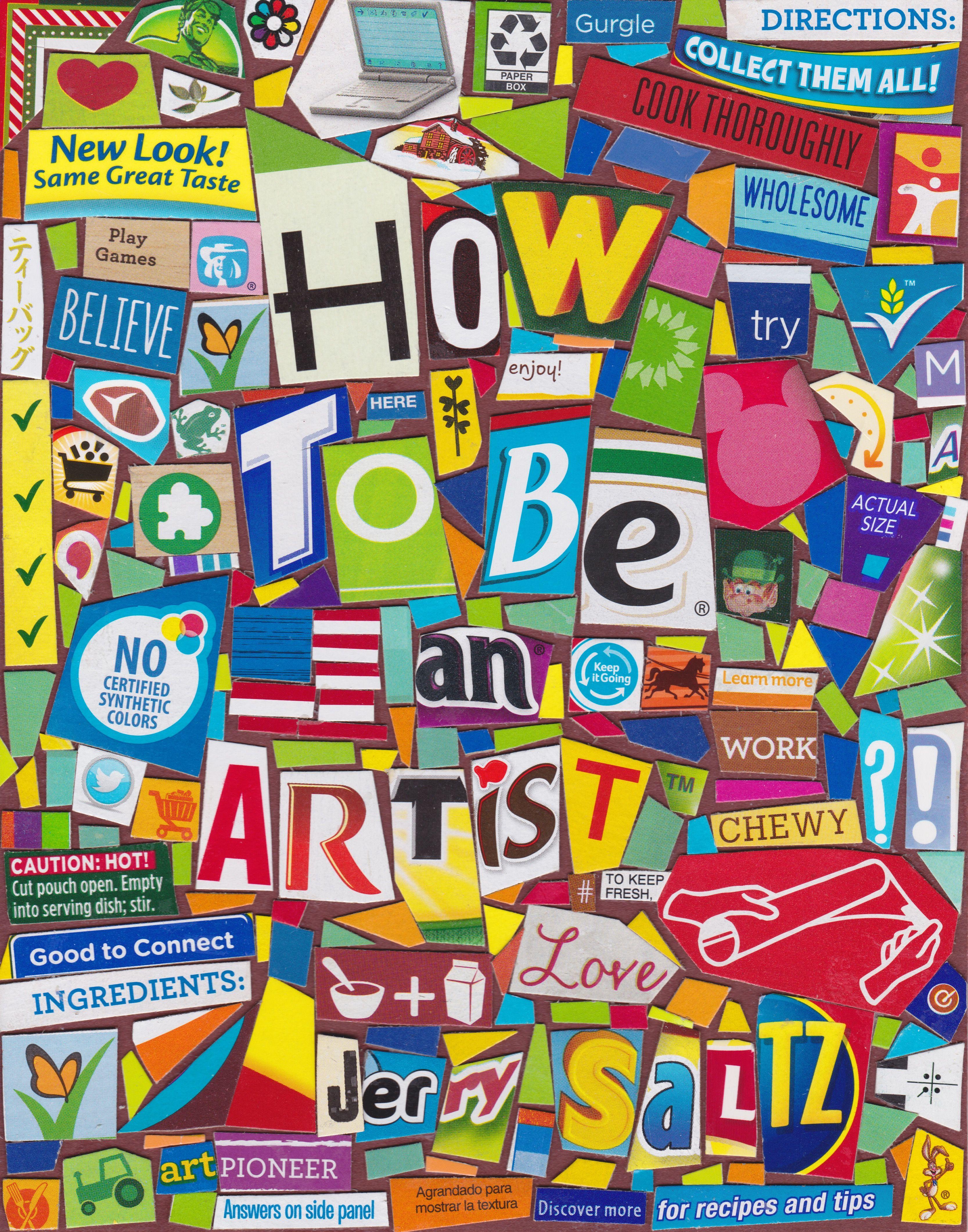 jerry saltz how to be an artist audiobook