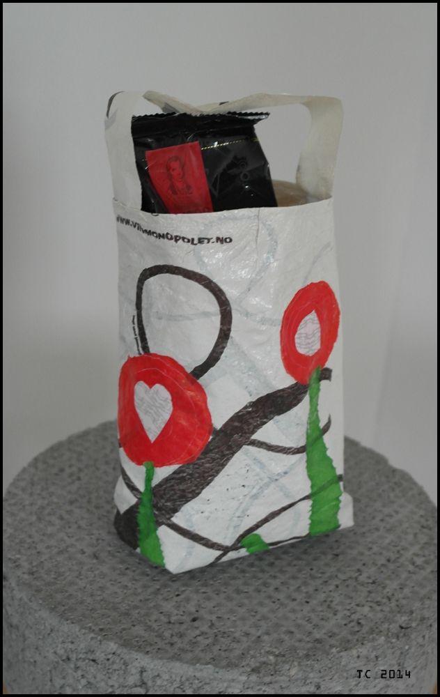 Papirleken: Redesign: smelt bæreposer